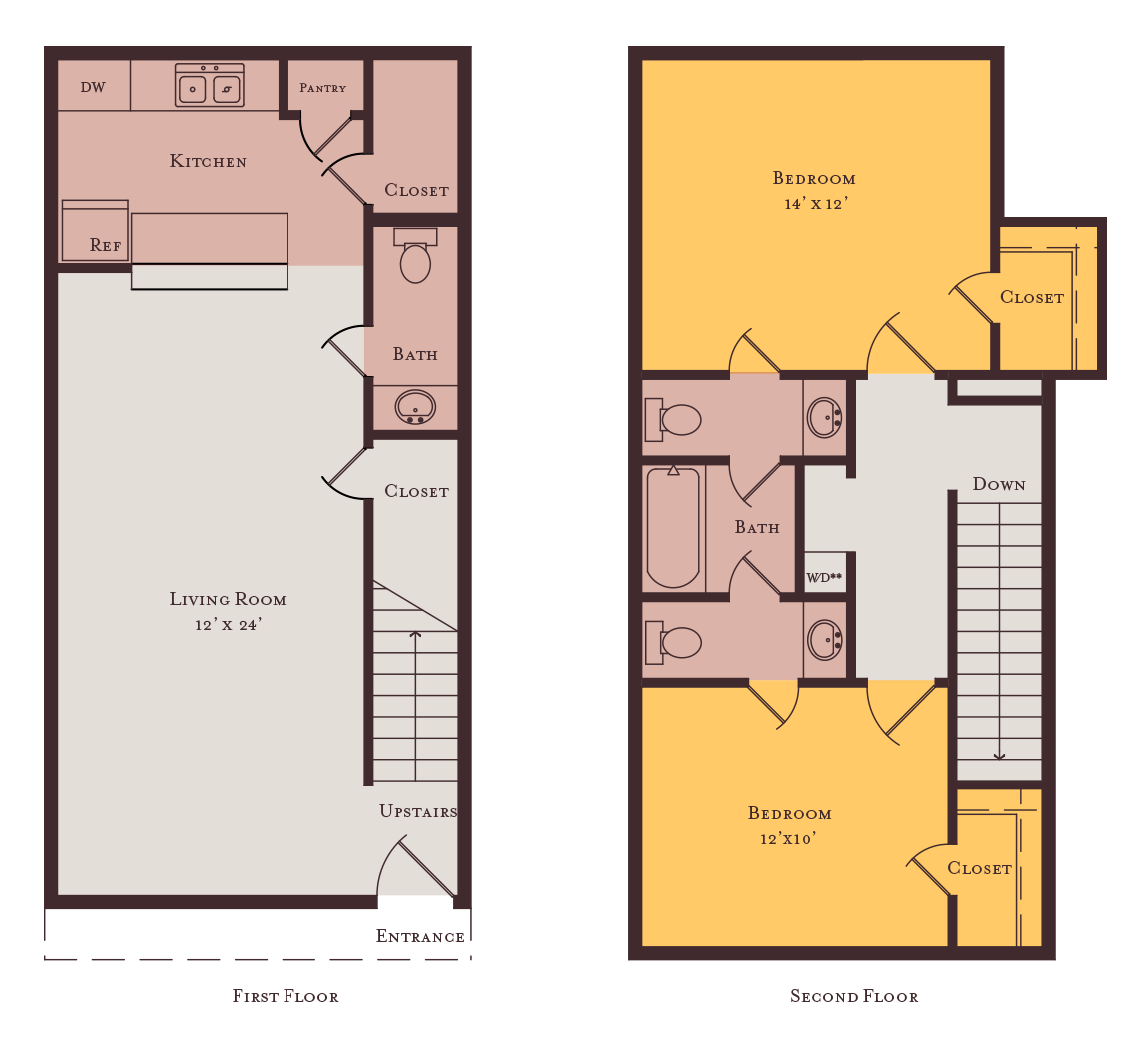 Bella Spring Laurel Floorplan